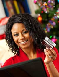 Christmas Shopping Credit Cards Debit